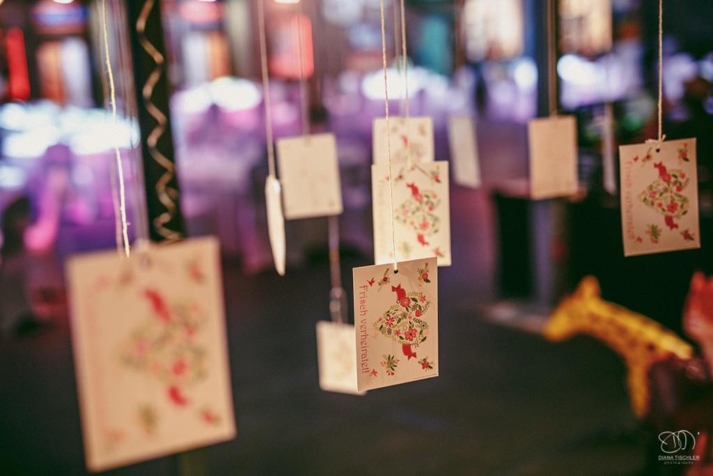 Glückwunschkarten bei der Hochzeit Hochzeitsfotograf Baden-Baden Rantastic Innenraum